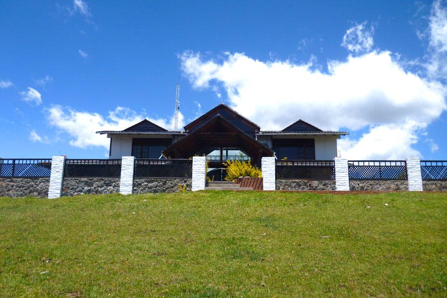 Galeria, Exterior, Hosteria Papagayo, Cayambe, Ecuador