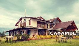 Cayambe, Ecuador, Hosterias