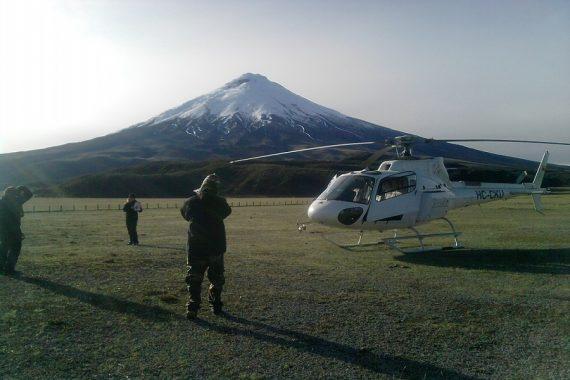 tours helicoptero Ecuador